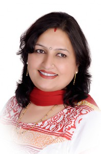 Mrs Shell Sanadhya ( Director of Suncity Dream Homes Pvt. ltd )